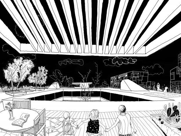 595.VSR - roofgarden